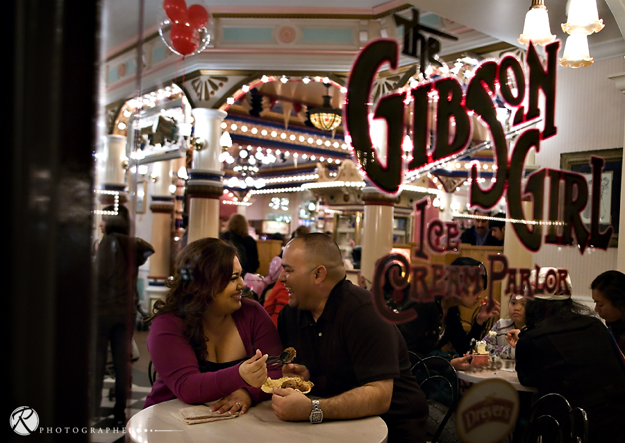 disney land- wedding photography-los angeles-Gibson Girl Ice Cream Disneyland