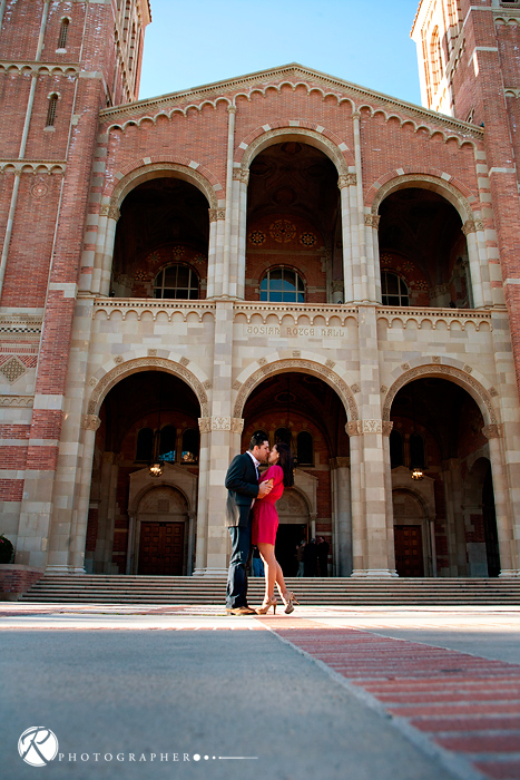 royce hall engagement session